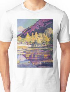 Ferdinand Hodler - At The Foot Of The Petit Saleve 1893 Unisex T-Shirt