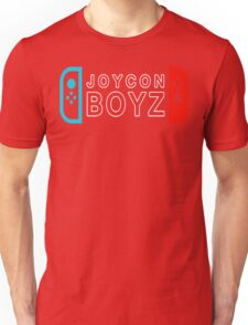 JOYCON BOYZ NEON RED/BLUE EDITION  T SHIRT Unisex T-Shirt