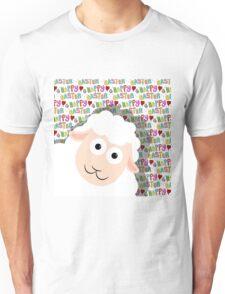 Easter lamb Unisex T-Shirt
