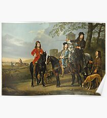 Aelbert Cuyp - Starting For The Hunt Poster