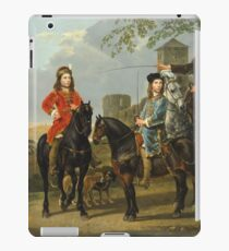 Aelbert Cuyp - Starting For The Hunt iPad Case/Skin