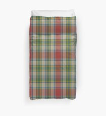 Ontario, Northern District Tartan  Duvet Cover