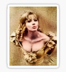 Ingrid Pitt, Vintage Actress Sticker