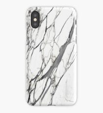 White marble iphone case iPhone Case
