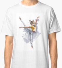 Dancing Cat Girl Pepe Psyche Classic T-Shirt
