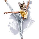 Dancing Cat Girl Pepe Psyche by Pepe Psyche