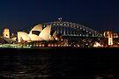 Opera House and Sydney Harbour Bridge by DavidIori
