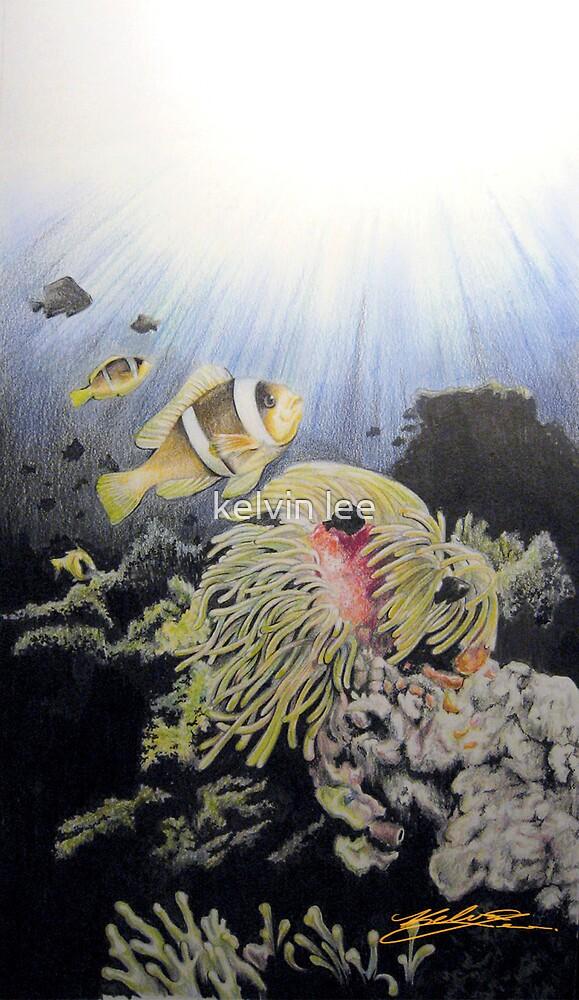 Ocean series 1 of 3 by kelvin lee