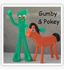 Gumby & Pokey  Sticker