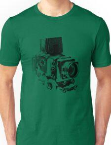 Medium Format Camera (Black) Unisex T-Shirt