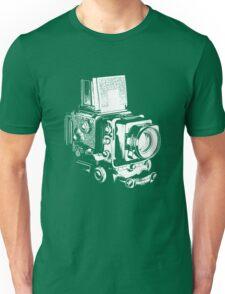 Medium Format Camera (White) Unisex T-Shirt