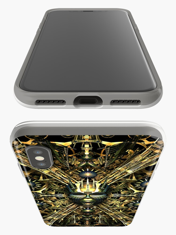 Alternate view of Steampunk Queen Phone Cases iPhone Case & Cover