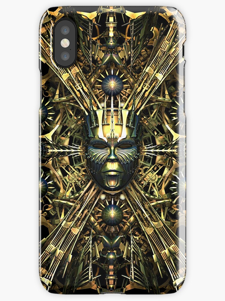 Steampunk Queen Phone Cases by Steve Crompton