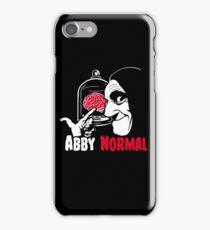 Ab(normal) brain iPhone Case/Skin