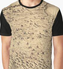 Map Of Majorca 1683 Graphic T-Shirt