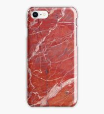 Red  marble iphone case iPhone Case/Skin