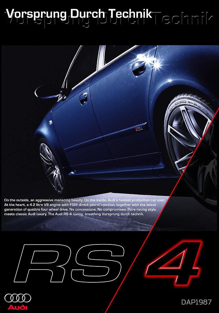 AUDI RS4 by DAP1987