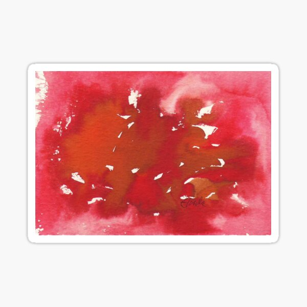 Cancer. Watercolor Star Sign. Sticker