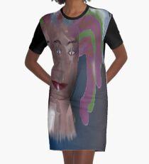 Cyclops Girl, from Mickeys Art And Design.Biz Graphic T-Shirt Dress