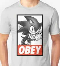 Sonic The Hedgehog OBEY Unisex T-Shirt