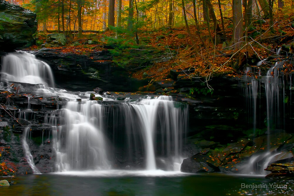 Autum Falls by Benjamin Young