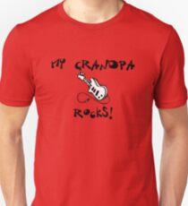 My Grandpa Rocks! Guitar T-Shirt