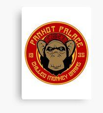 Pankot Palace chilled monkey brains Canvas Print