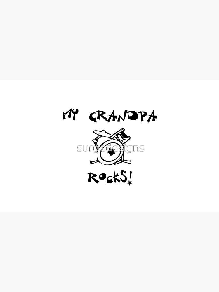 Meine Großvater-Felsen! Schlagzeug von surgedesigns