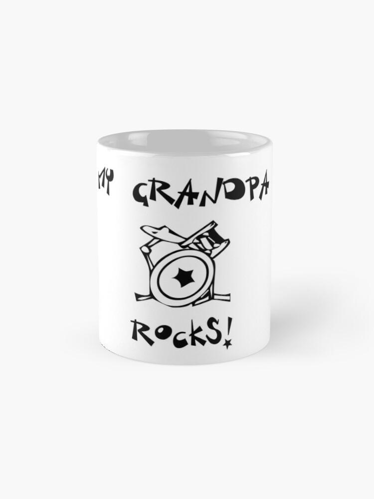Alternative Ansicht von Meine Großvater-Felsen! Schlagzeug Tassen