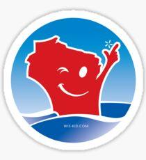 Lake Lovin Wis-Kid Sticker