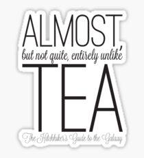 Almost Tea Sticker