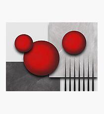 Modern art Photographic Print