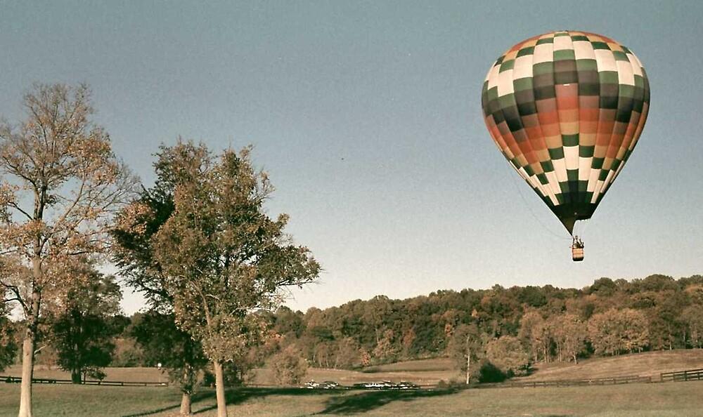 Hot air ballooning by mkpshay