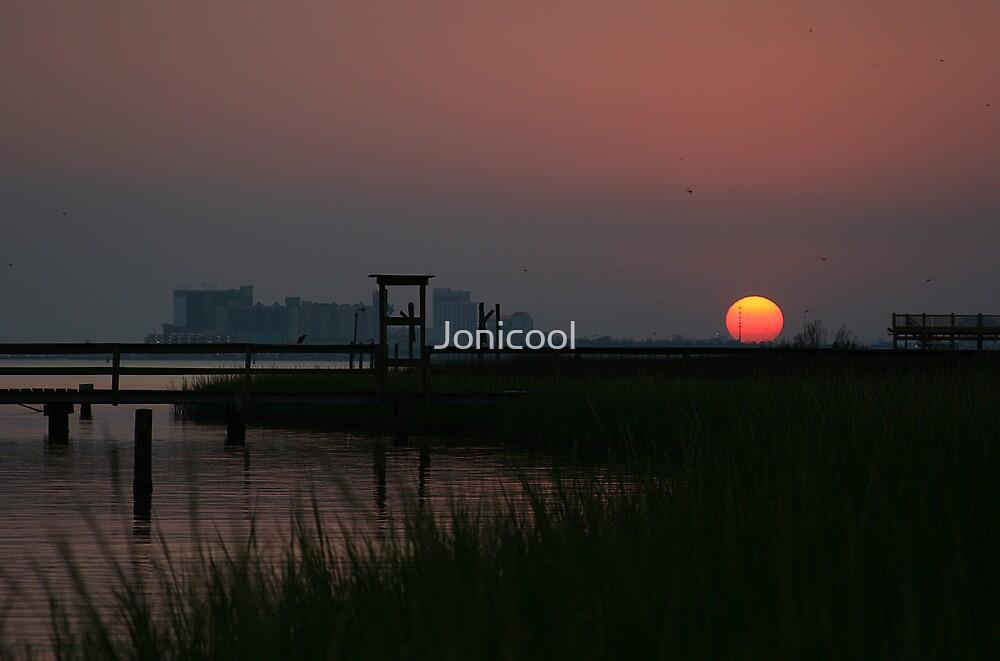 Sinking Sun by Jonicool