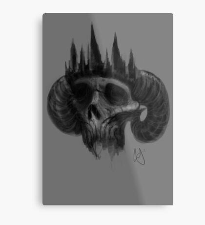 Fallen king  Metal Print