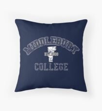 Midd Vintage 2 Throw Pillow