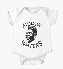 Muddy Waters black and white Kids Clothes
