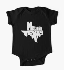 Made in Texas White One Piece - Short Sleeve