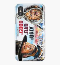 Clint Eastwood, Lee Van Cleef, The Good,The Bad & The Ugly movie poster iPhone Case/Skin