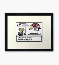 Link used a Cucco Framed Print