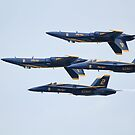 USN Blue Angels by Karl R. Martin