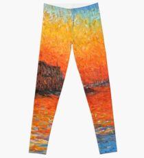 Legging Crepúsculo de Venecia de Claude Monet
