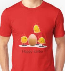 Happy Easter Chicks Tshirt T-Shirt