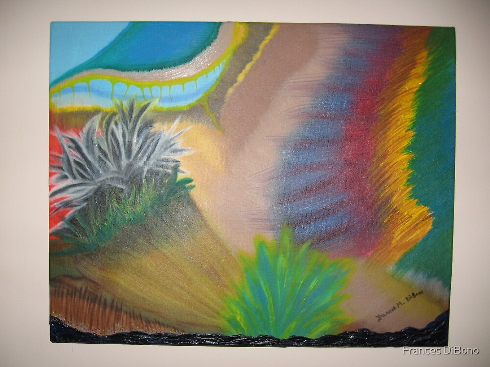 The colorful plants and grass by Frances DiBono