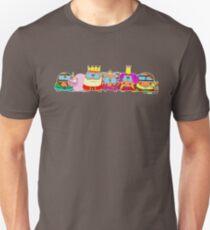 König+Prinzessin+Königin T-Shirt