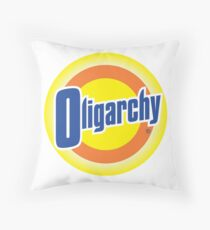 Oligarchy Throw Pillow