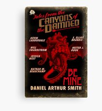 Tales from the Canyons of the Damned no. 13 Canvas Print