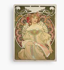 Alphonse Mucha - Champagne 1897 Canvas Print