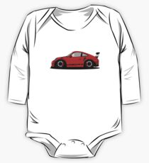 Porsche GT3 RS Red/Orange One Piece - Long Sleeve