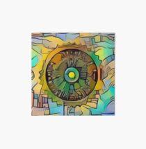 The Clockwork Sun  Art Board